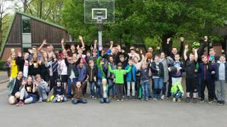 Gruppenbild der Jugendfahrt